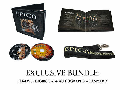 Epica - Consign To Oblivion (UNIQUE SIGNED BUNDLE) Within Temptation Nightwish