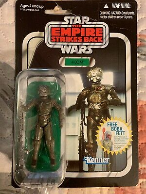 Hasbro Star Wars VC10 - The Empire Strikes Back 4-Lom Action Figure New On Card!