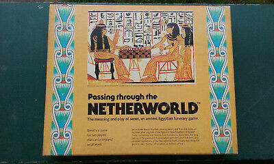 Ancient Egyptian SENET Game - Recreation - Passing through the Netherworld - '78