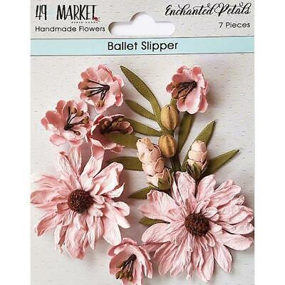 49 and Market Enchanted Petals Mulberry Paper Flowers 7pcs