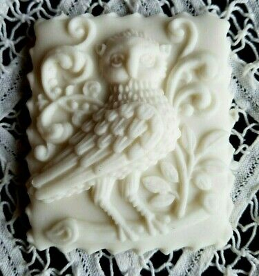 NEW - Springerle Speculaas Butter Cookie Paper Cast Stamp Press Mold - DEEP OWL