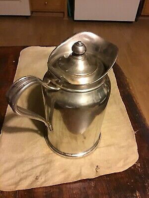 Reed and Barton Silver Soldered Insulated Pitcher