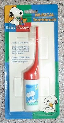 Baby Snoopy Musical Toothbrush, New In Package