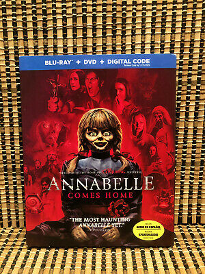 Annabelle Comes Home (2-Disc Blu-ray/DVD, 2019)+Slipcover.Part 3.Conjuring