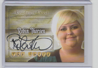 The Guild Robin Thorsen as Clara Autograph Card A11 Knights of Good