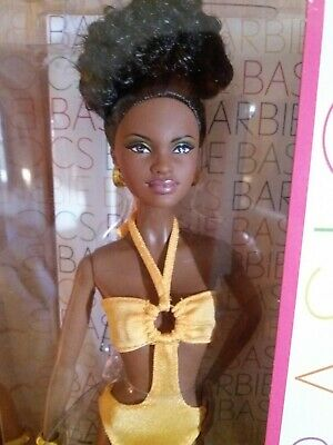 Barbie Basics Model No.08-Collection003 African American Doll Black Label