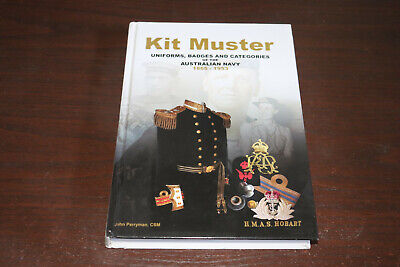 Kit Muster Uniforms Badges Medals of the Australian Navy Boer WW1 WW2 RAN Book