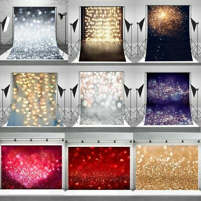 AU Dreamy Halo Background Wall Vinyl Glittering Photo Backdrop Studio Props EG#