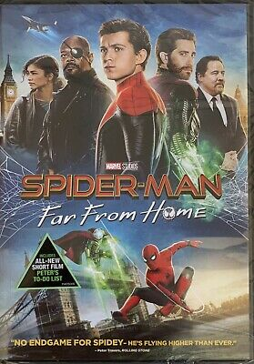 SPIDER-MAN ~ FAR FROM HOME   <   DVD   >   *New *Factory Sealed ~