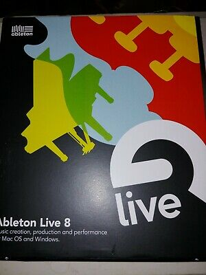 Ableton Live 8 Music Creation, production and performance for Mac OS and Windows
