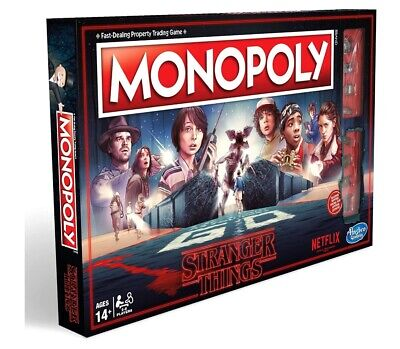 NEW - Monopoly Stranger Things Edition