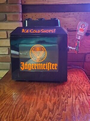 Jagermeister Ice Cold Shots Machine.  Used.  Does Power On.
