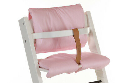 TREPPY SET Highchair & Play/Food Tray & Cushion with wooden bar & safety strap