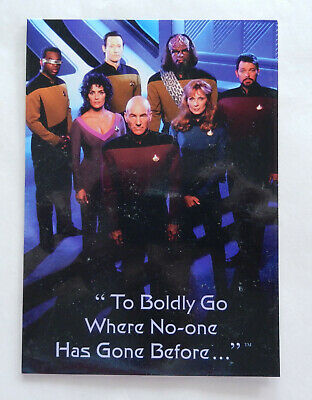 Star Trek DS9 and Next Generation Limited Edition Collector's Card (Aust)