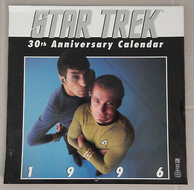 Star Trek 30th Anniversary Calendar (1996)