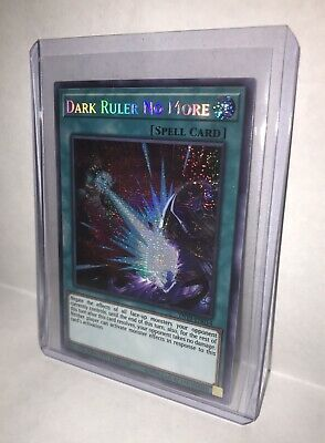 Dark Ruler No More (TN19-EN014) Prismatic Secret Rare Limited Edition NEAR MINT