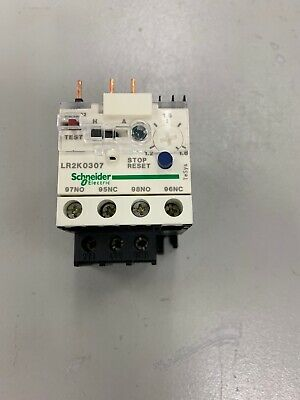 Schneider Electric Overload Relay LR2K0307 Number of Poles: 3 Trip Class: 10 Current Range: 1.20 to 1.80A