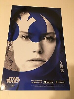 Star Wars Rey Poster from Topps NEW