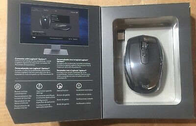Logitech MX Anywhere 2s Graphite Wireless Laser PC Mouse 2017 Bluetooth 910