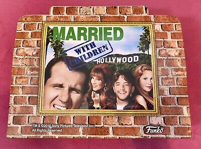 """NEW """"Married With Children"""" FUNKO Action Figure Set 2018 NYCC Target Exclusive!!"""