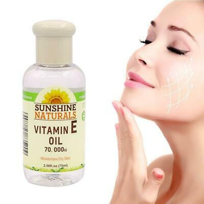 100% Natural Vitamin-E Pure Jojoba Oil Organic Hair 75ML Essence Aging Oil E8I8