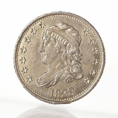 Raw 1829 Capped Bust H10C Uncertified Ungraded Silver Half Dime US Mint Coin