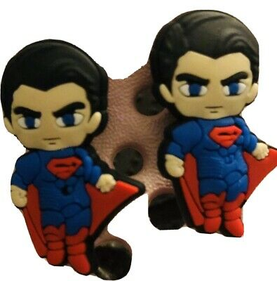 Awesome Superman 2  shoe charms For crocs