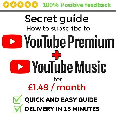 How To save MASSIVE on YouTube Premium & Music - 87% Off Discounted Price