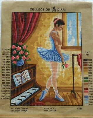 Large Printed Tapestry Canvas*Tiger*Ballerina*
