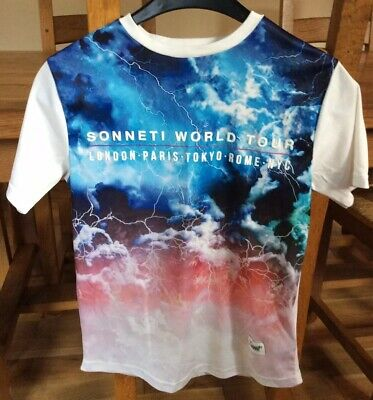 Boys Sonneti Printed Top Size 10-12 Years