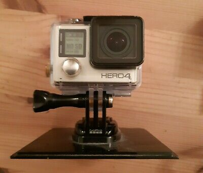 GoPro HERO4  Action Camcorder - Silver PLUS Floaty, charger & extra battery!