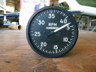 Gauge Aircraft RPM Indicator