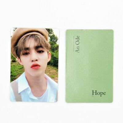 [SEVENTEEN] An Ode 독 : Fear Official Photocard / Hope Ver. A-1. S.coups