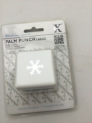 Brand New Xcut1 Inch Snowflake Palm Punch Unopened