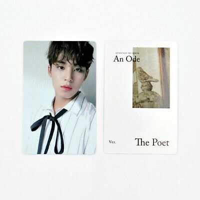 [SEVENTEEN] An Ode 독 : Fear Official Photocard / The Poet Ver. B-1. Mingyu
