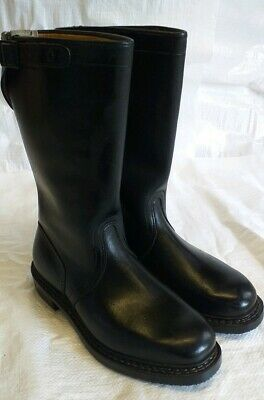 Vintage  Black Leather Motorcycle?? Boots.  Size 9