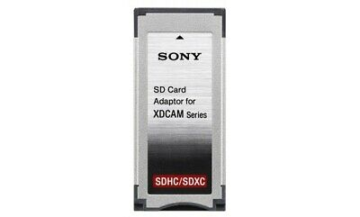 Sony MEAD SD02 SxS Xdcam adaptor for SD card.Genuine and In a Mint condition.