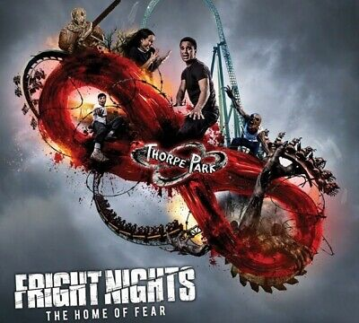 Thorpe Park Fright Night Tickets For 2 (Saturday 2nd November)