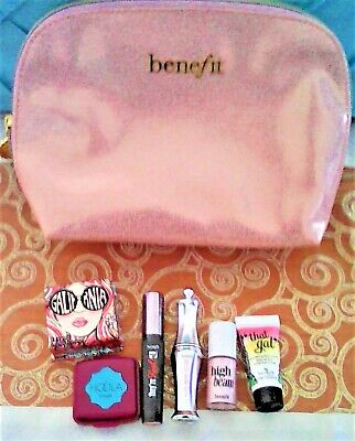 Benefit  Make Up Set With Make Up Bag 7 Items All New