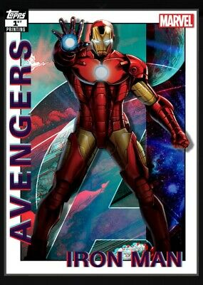 Topps Marvel Collect Digital Avengers 1st Printing Iron Man