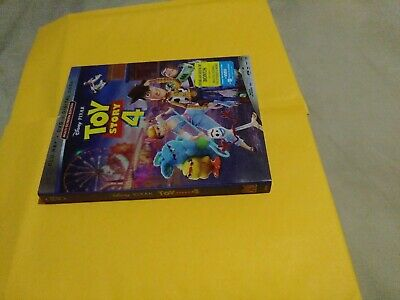 Toy Story 4 (Blu-Ray and dvd WITH SLIPCOVER NO DIGITAL