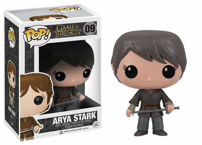 Funko Pop! Arya Stark (used) 09 and Bran Stark (NEW) 67