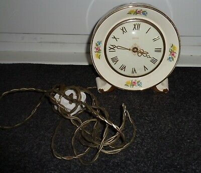 vintage smiths  electric clock by smiths spares or repairs
