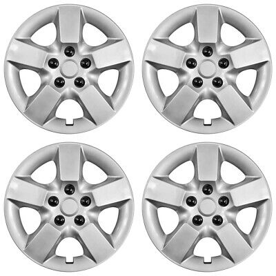 """New Set of 4 16/"""" Wheel Covers Full Rim Snap On Hub Caps for 2008-15 Nissan Rogue"""