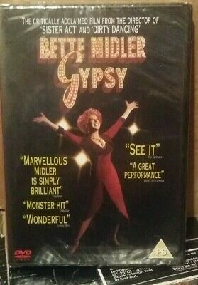 Gypsy DVD (2005) Bette Midler NEW & Factory Sealed