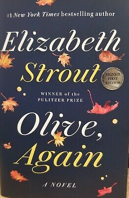 Signed 1St Ed 'Olive, Again' By Elizabeth Strout
