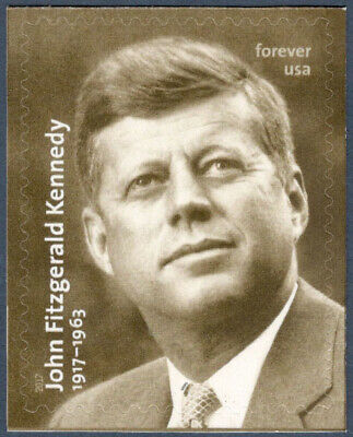 US STAMP, 2017, 5175 John F. Kennedy Forever US Single Mint/nh (Free Shipping)
