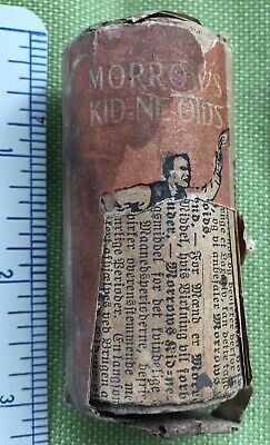 Antique Quack Tonic Wooden Medicine Bottle