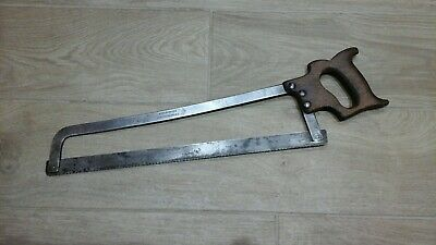 "G Rushbrooke West Smithfield 20"" Vintage Butchers Saw."