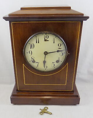 Antique Bell & Gong Striking Mantel Clock - Wm. L. Gilbert, Usa - Fully Working